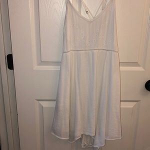 White Abercrombie & Fitch Babydoll Dress